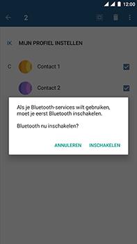 OnePlus 3 - Android Nougat - Contactgegevens overzetten - delen via Bluetooth - Stap 10