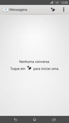 Sony Xperia E4 - SMS - Como configurar o centro de mensagens -  4