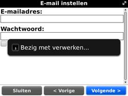 BlackBerry 9700 Bold - E-mail - Handmatig instellen - Stap 10