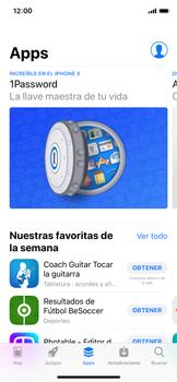 Apple iPhone X - Aplicaciones - Descargar aplicaciones - Paso 5