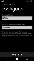Nokia Lumia 735 - Internet et connexion - Partager votre connexion en Wi-Fi - Étape 7