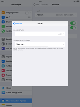 Apple iPad 2 met iOS 8 - E-mail - Instellingen KPNMail controleren - Stap 12