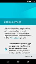 HTC One M9 - Applicaties - Account aanmaken - Stap 13