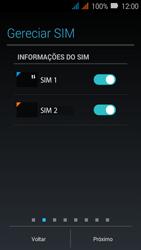 Huawei Y3 - Primeiros passos - Como ativar seu aparelho - Etapa 8