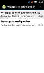 Alcatel OT-4033X Pop C3 - Paramètres - reçus par SMS - Étape 8