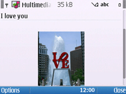 Nokia E5-00 - Mms - Sending a picture message - Step 14