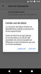 Sony Xperia XZ1 - Internet - Ver uso de datos - Paso 10