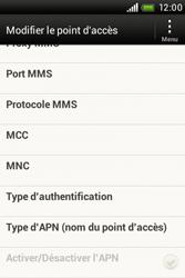 HTC A320e Desire C - MMS - configuration manuelle - Étape 13