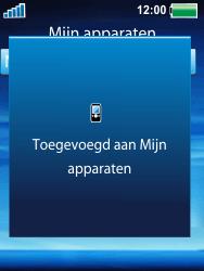 Sony Ericsson W100i Spiro - Bluetooth - Headset, carkit verbinding - Stap 10