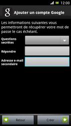 Sony Ericsson Xpéria Arc - Premiers pas - Créer un compte - Étape 21