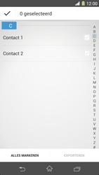 Sony Xperia Z1 4G (C6903) - Contacten en data - Contacten kopiëren van toestel naar SIM - Stap 7