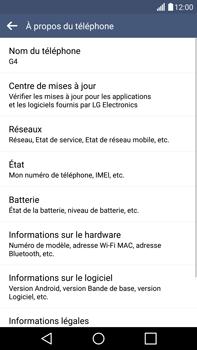 LG H815 G4 - Réseau - Installation de mises à jour - Étape 7