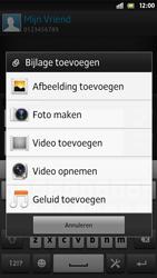 Sony LT26i Xperia S - MMS - afbeeldingen verzenden - Stap 12