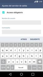 LG K10 4G - E-mail - Configurar correo electrónico - Paso 17
