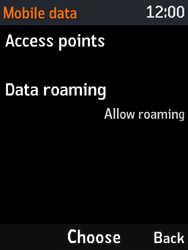 Nokia 3310 - Internet - Usage across the border - Step 7