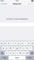 Apple iPhone 6 met iOS 9 (Model A1586) - Beveiliging en ouderlijk toezicht - Toegangscode instellen - Stap 11