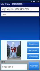 Sony Ericsson Xperia X10 - MMS - afbeeldingen verzenden - Stap 12
