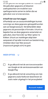 Samsung galaxy-a8-2018-sm-a530f-android-pie - Applicaties - Account aanmaken - Stap 17
