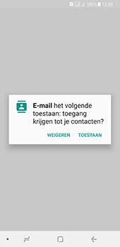 Samsung Galaxy A8 (2018) - E-mail - e-mail instellen: IMAP (aanbevolen) - Stap 5
