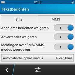 BlackBerry Q10 - MMS - probleem met ontvangen - Stap 8