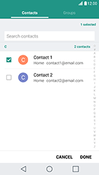 LG X Cam - Email - Sending an email message - Step 8