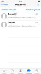 Apple iPhone 6 iOS 9 - WhatsApp - Partager des photos et votre emplacement avec WhatsApp - Étape 15