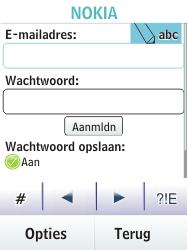 Nokia Asha 203 - E-mail - Handmatig instellen - Stap 9