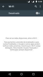 Motorola Moto E (2ª Geração) - Wi-Fi - Como configurar uma rede wi fi - Etapa 5
