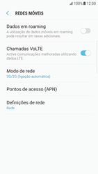 Samsung Galaxy S6 Edge - Android Nougat - Internet no telemóvel - Como ativar 4G -  6