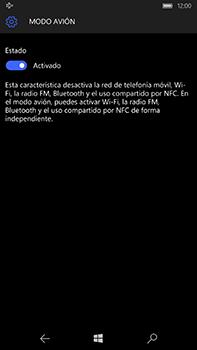 Microsoft Lumia 950 XL - Funciones básicas - Activar o desactivar el modo avión - Paso 7