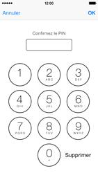 Apple iPhone 5s - Sécuriser votre mobile - Personnaliser le code PIN de votre carte SIM - Étape 11