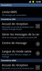 Samsung I8160 Galaxy Ace II - SMS - configuration manuelle - Étape 4