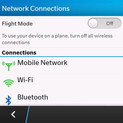 BlackBerry Q10 - Network - Usage across the border - Step 5