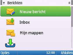 Nokia E5-00 - E-mail - hoe te versturen - Stap 4