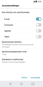 LG G6 (LG-H870) - E-mail - 032c. Email wizard - Outlook - Stap 10