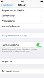 Apple iPhone 8 (Model A1905) - Beveiliging en ouderlijk toezicht - Hoe wijzig ik mijn SIM PIN-code - Stap 4