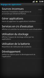 Sony Xpéria S - Applications - Supprimer une application - Étape 5