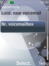 Nokia 7210 supernova - Voicemail - Handmatig instellen - Stap 5