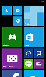 Nokia Lumia 635 - Applications - Create an account - Step 1