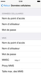 Apple iPhone 5c - Internet - Configuration manuelle - Étape 7