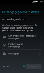 Alcatel One Touch POP S3 4G (OT-5050X) - Applicaties - Account aanmaken - Stap 20