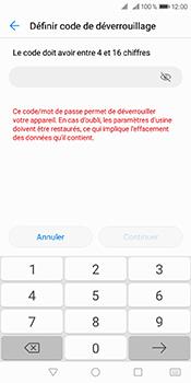 Huawei Y6 (2018) - Sécuriser votre mobile - Activer le code de verrouillage - Étape 7