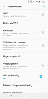 Samsung galaxy-a8-2018-sm-a530f-android-oreo - WiFi - Mobiele hotspot instellen - Stap 5