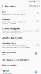 Samsung Galaxy A3 (2017) (A320) - Internet et connexion - Partager votre connexion en Wi-Fi - Étape 5