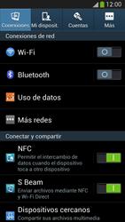 Samsung Galaxy S4 - Red - Seleccionar el tipo de red - Paso 4