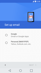 LG LG G5 - E-mail - Manual configuration (gmail) - Step 7