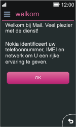 Nokia Asha 311 - E-mail - Handmatig instellen - Stap 4