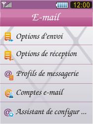 Samsung S7070 Diva - E-mail - Configuration manuelle - Étape 16