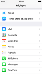 Apple iPhone SE - iOS 10 - E-mail - Configuration manuelle - Étape 4