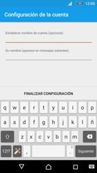 Sony Xperia M5 (E5603) - E-mail - Configurar correo electrónico - Paso 22